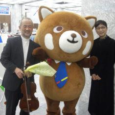 6月1日(火)10時半~、広島市役所にて、CD「tomorrow from HIROSHIMA」プロジェクト記者会見