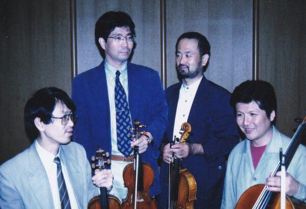 2002年8月の「マイ・ハート弦楽四重奏団ひろしま」